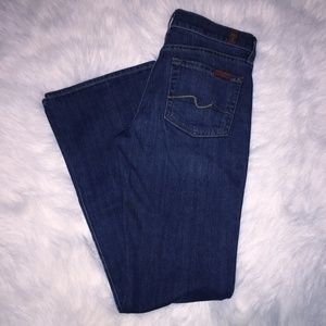 7 for all man kind Bootcut jeans size 24